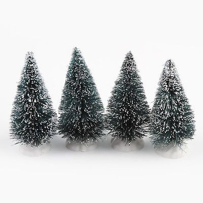 5pcs Mini Artificial Christmas Tree Festival Party Home Decoration ...