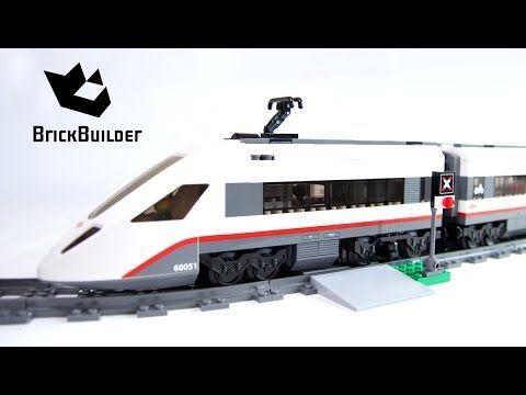 Lego City 60051 High Speed Passenger Train Lego Speed Build Lego City Train Passenger