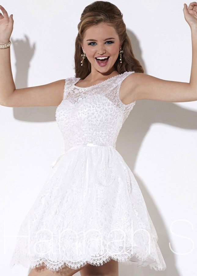 minihems.com cheap short white dresses (08) #shortdresses ...
