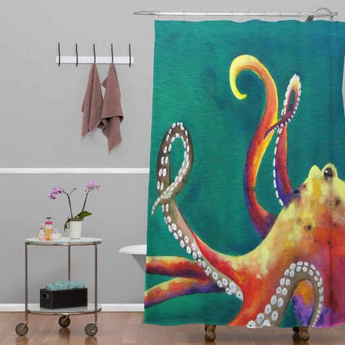 Found It At Wayfair Clara Nilles Mardi Gras Octopus Shower