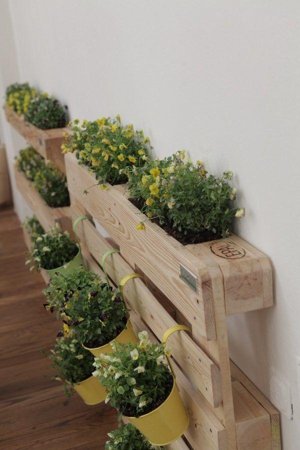 Superior Orto Sul Balcone: Come Realizzare Un Angolo Verde Con I Pallet
