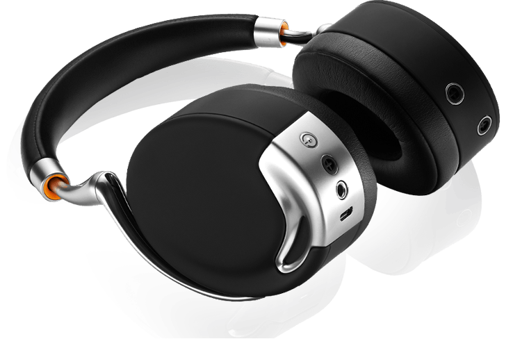 The Parrot Zik by Starck the world's most advanced