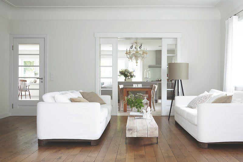 küche, essbereich und wohnzimmer - ein stilmix aus landhausstil