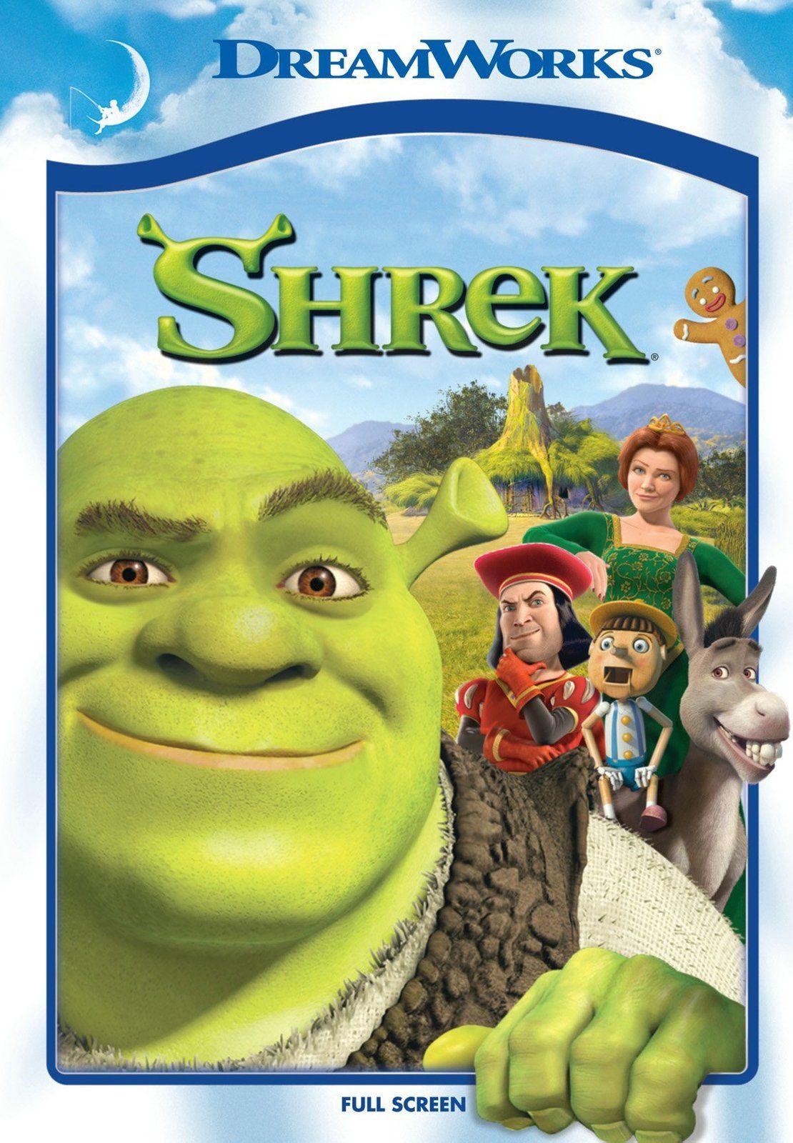 Shrek Directors Andrew Adamsom I Vicky Jenson Biblioteca L Almodi Dibuixox Animats I 791 Shr Peliculas De Animacion Shrek El Nino Pelicula