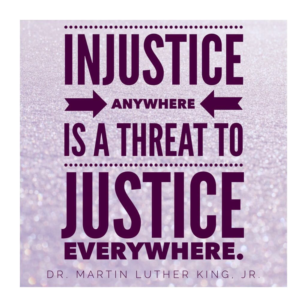 Injustice Anywhere Is A Threat To Justice Everywhere We Are Caught In An Inescapable Network Of Mutuality Tied I Martin Luther King Injustice Black Business