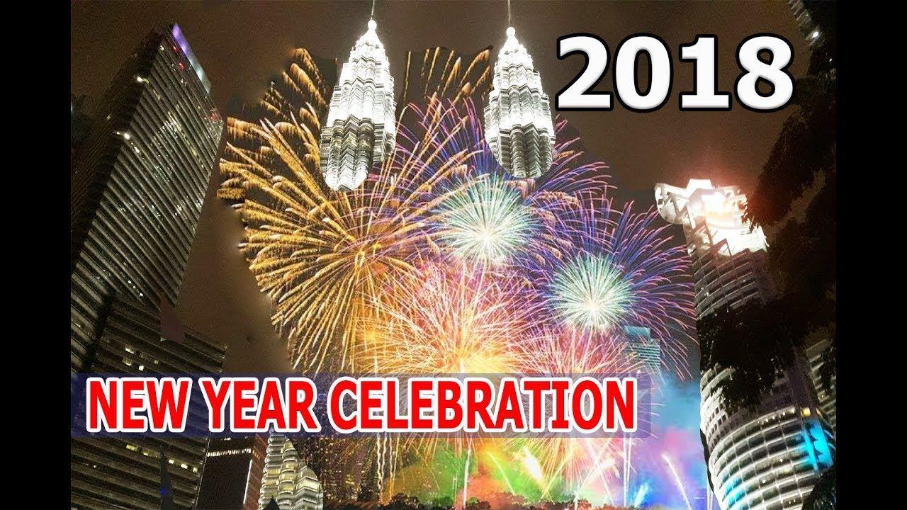Amazing New Year 2018 Countdown Malaysia World Best New