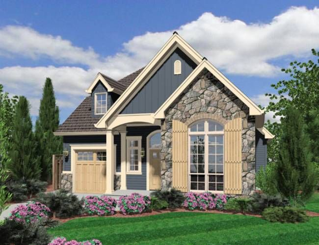 Mascord House Plan 21105 The Sherwood Great Curb Appeal Would
