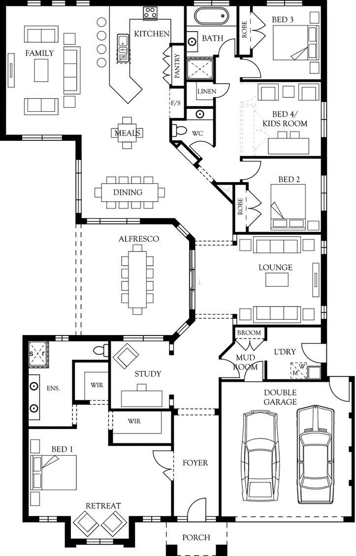 Bridgeport 34 floor plan eden brae homes