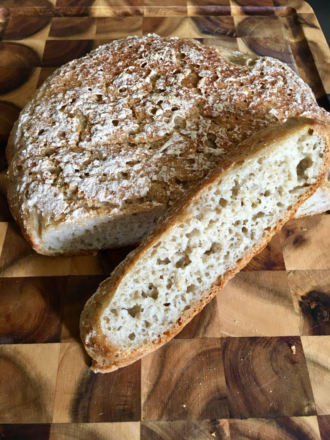 Gluten Free No Knead Bread The World S Best Gluten Free Bread In A Dutch Oven Www Kvalifood Com Best Gluten Free Bread No Knead Bread Gluten Free Bread