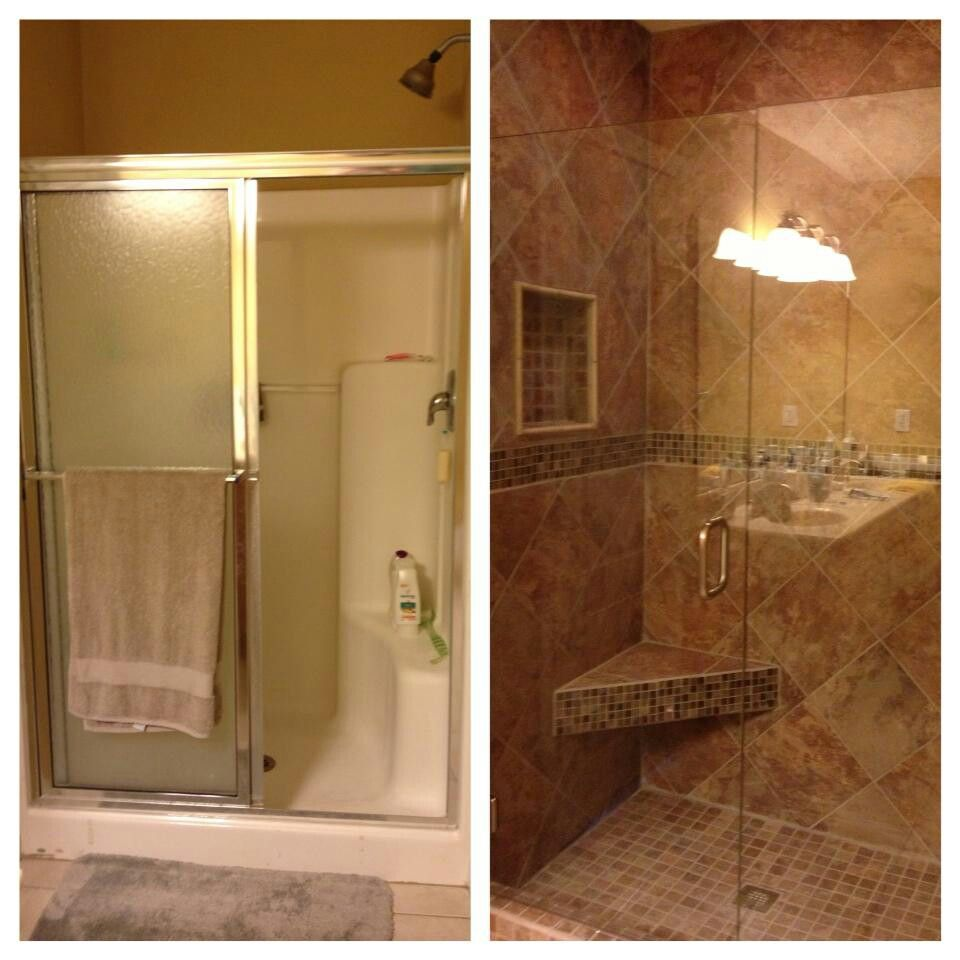 The 25 best bathroom renovations ideas on pinterest for Bath remodel pinterest