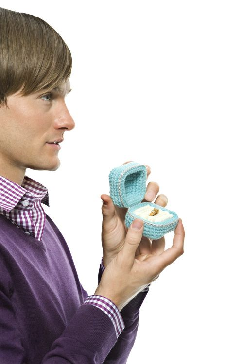 Yarny Ring Box Crochet Today Free Pattern And This One Is Crochet