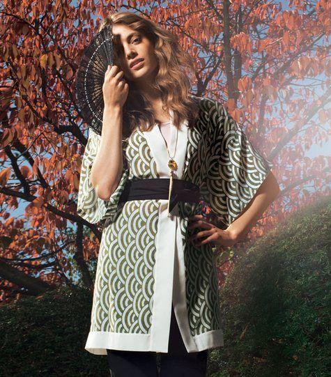 Kimono für Damen | Kimonos, DIY fashion and Patterns
