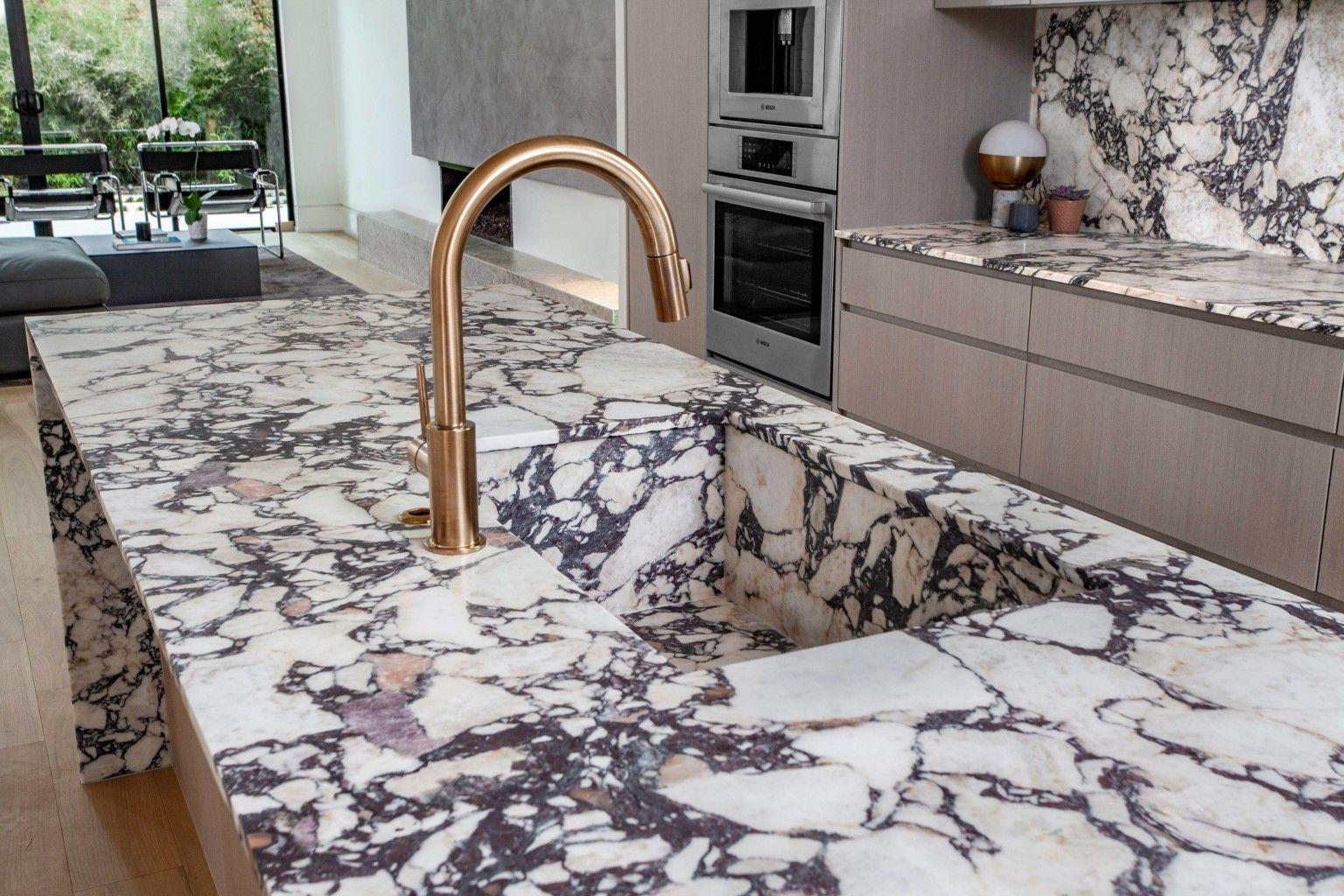 Aria Stone Gallery Calacatta Viola Marble Kitchen Kitchen Marble Stone Gallery Stone Slab