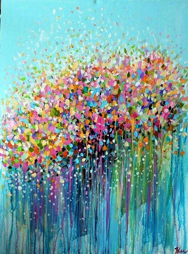110 Easy Acrylic Painting Ideas For Beginners To Try Abstract