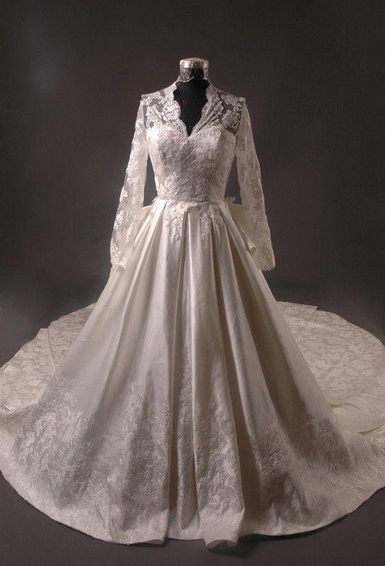 La robe de mariee de kate middleton