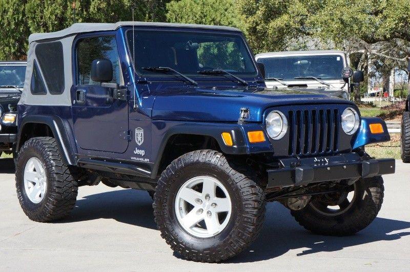 2005 Jeep Wrangler Patriot Blue Jeep Jeep Wrangler 2005 Jeep Wrangler