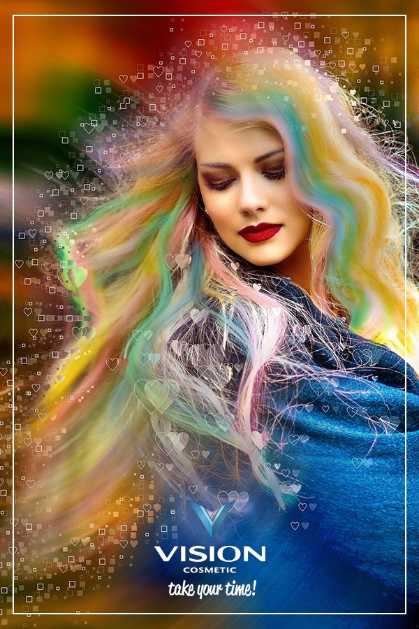 Sprigiona il colore dei tuoi capelli! Prova # ...