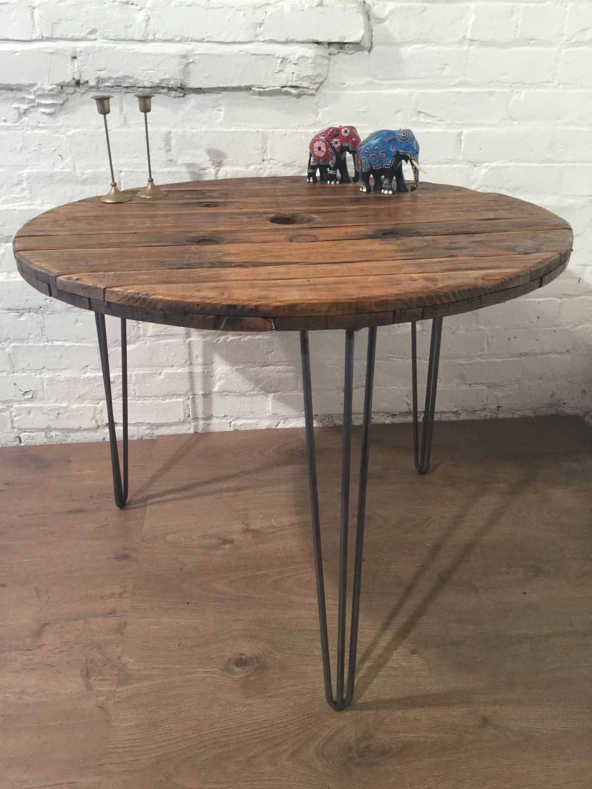 Dining Tables Reclaimed Wood Round Dining Table Vintage Industrial