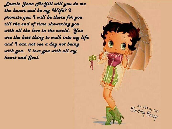 Betty Boop Poem