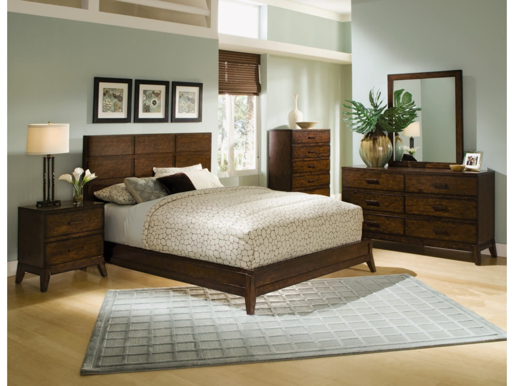 Scandia Dark 5Pc Bedroom Package  Value City Furniture  Home Impressive Value City Furniture Bedroom Sets Decorating Design