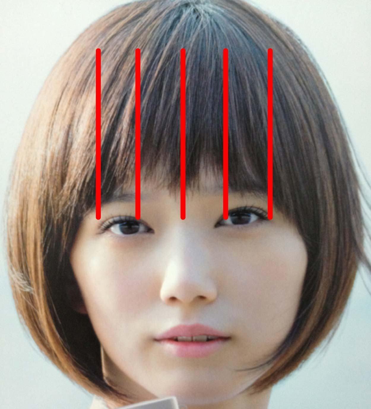 本田翼風髪型 短い前髪の切り方 セルフカットのやり方 前髪 ヘアアクセサリー 髪型 前髪