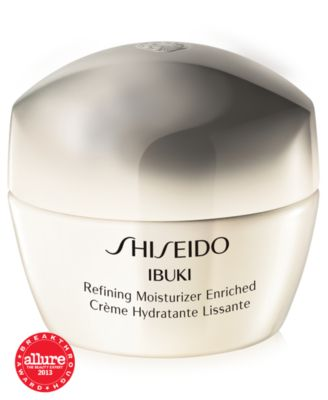 Shiseido Ibuki Refining Moisturizer Enriched 1 7 Oz Macys Com Beauty Treatments Skin Care Moisturizer Natural Beauty Treatments