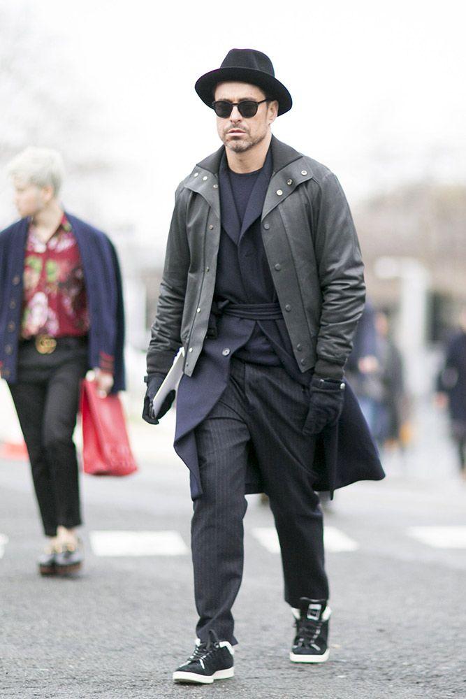 3f4ca02a07415 Street Style  Paris Men s Fashion Week Fall 2016 - theFashionSpot