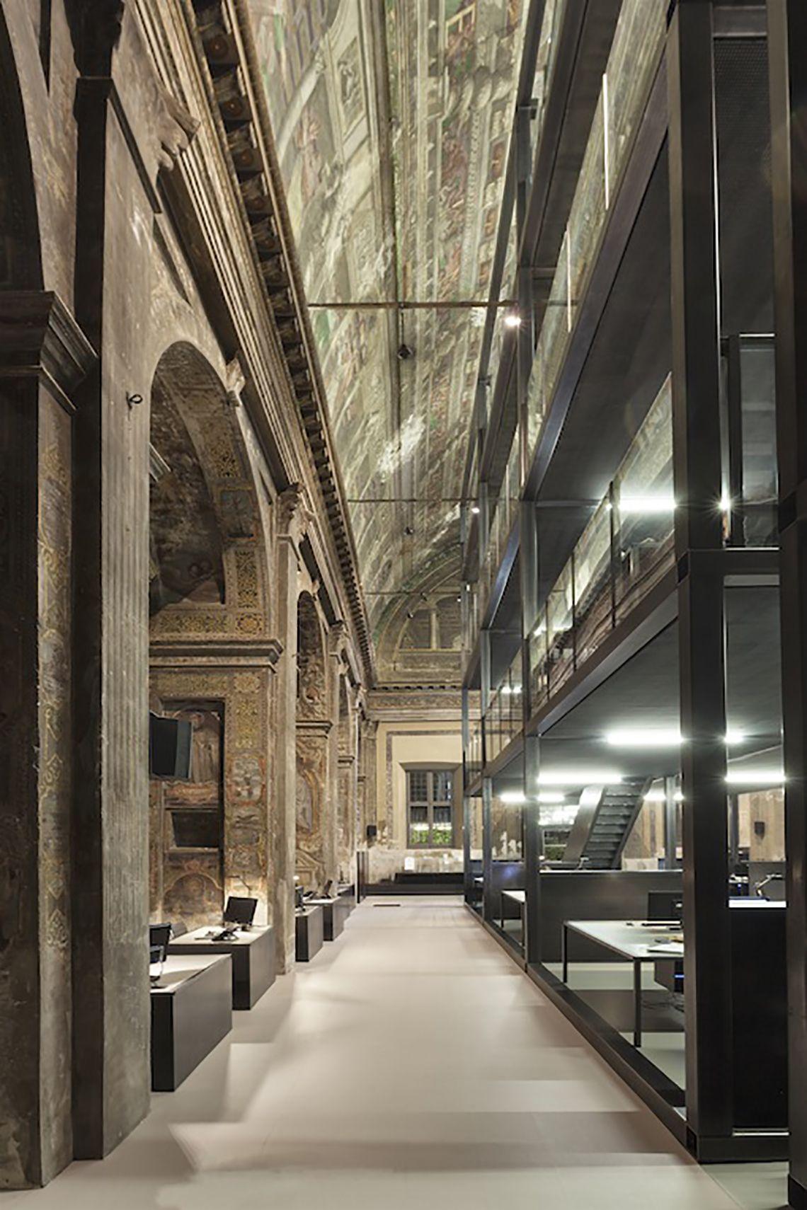 Chiesa san paolo converso cls architetti studio milano for Service design milano