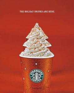 Starbucks Christmas Menu.Starbucks 12 Days Of Deals Ads Creative Creative