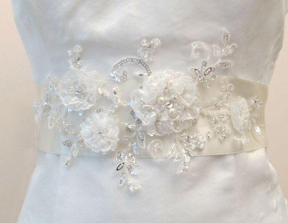Pcs cm diameter white flower applique diy petals lace
