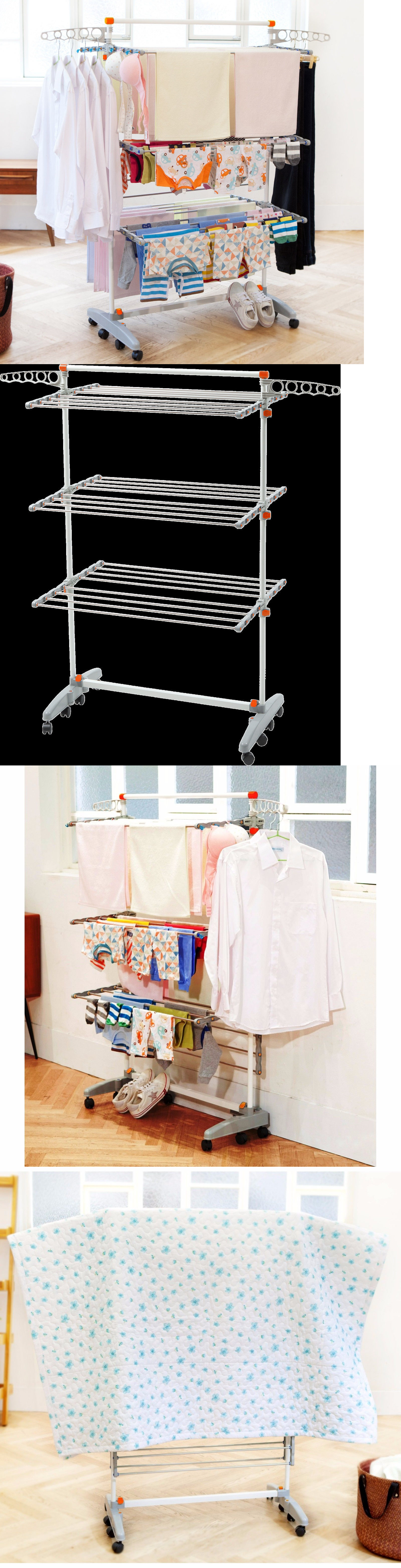 Clotheslines and laundry hangers clothes drying rack laundry