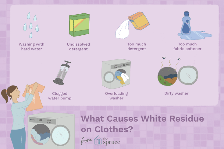 6441bf022caadad4396f5b6b01257bea - How To Get Fabric Softener Residue Out Of Clothes
