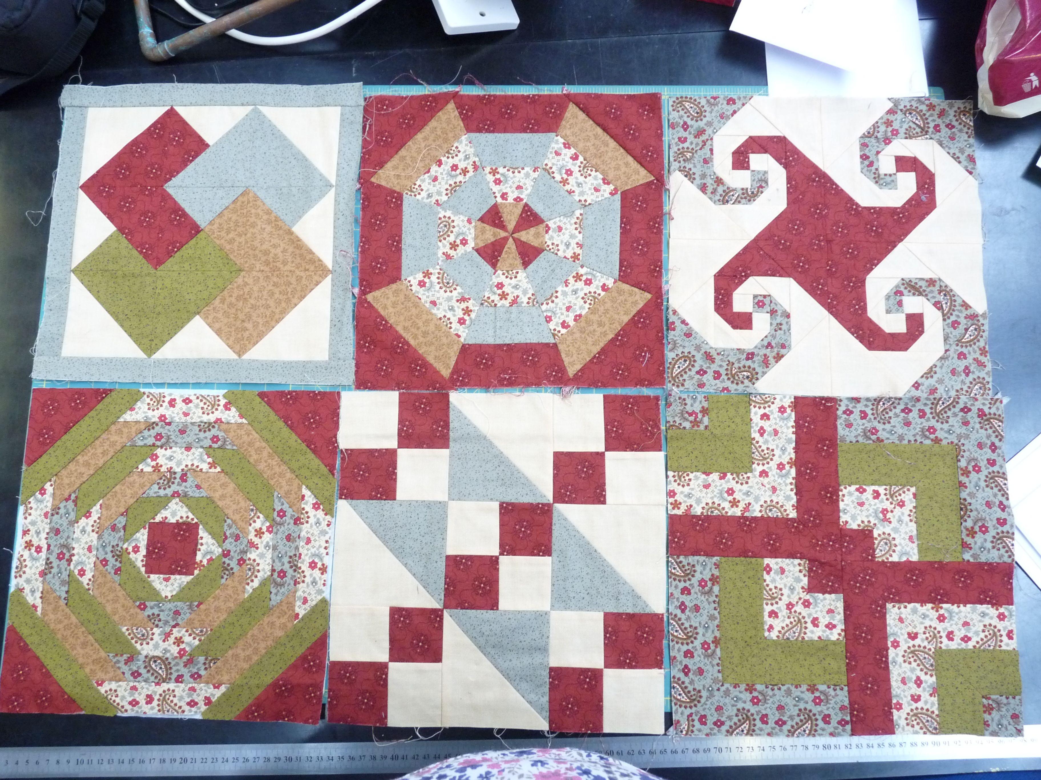 sampler quilts | Beginners Sampler Quilt | Quilt block patterns ... : beginners quilting classes - Adamdwight.com