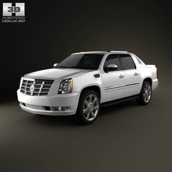 Cadillac Escalade EXT 2011 3d Model From Humster3d.com