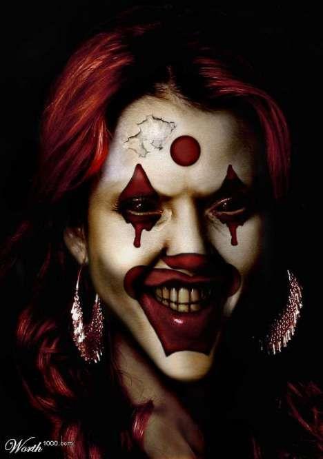 Quirky Clown Portraits Pinterest Halloween costumes, Fx makeup - clown ideas for halloween