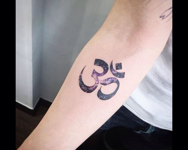 Religious Symbol Space Tattoo By Tattooistflower From Instagram
