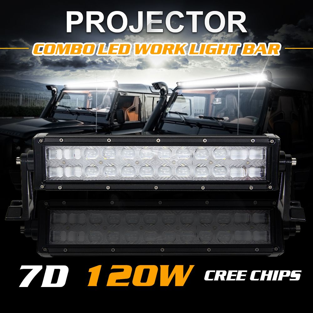 12 14 7d 120w work lights 12000lm cree chips led combo light bar 12 14 7d 120w work lights 12000lm cree chips led combo light bar off mozeypictures Gallery