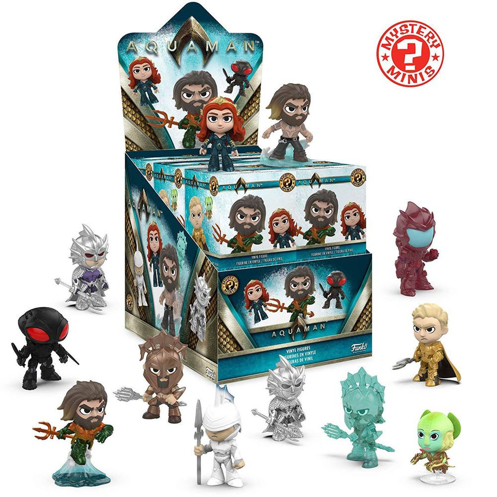 f71daccd473 Funko Aquaman Mystery Minis Blind Box Mini Figure 1 Full Case Of 12 Blind  Boxes