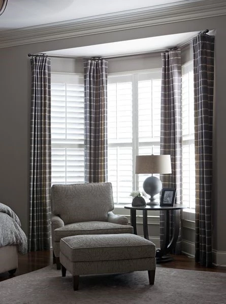 Curtains for Corner Windows What in 2020 Bedroom