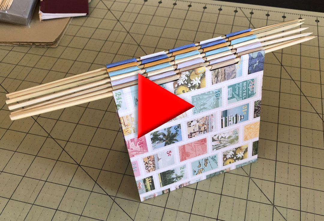 Piano Hinge Binding Handmade Books And Journals Handmade Books Book Making Bookbinding