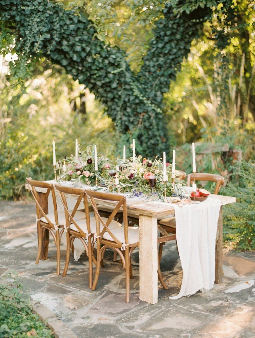 outdoor table Gorgeous late summer vineyard shoot from Erin Wilson  Photography