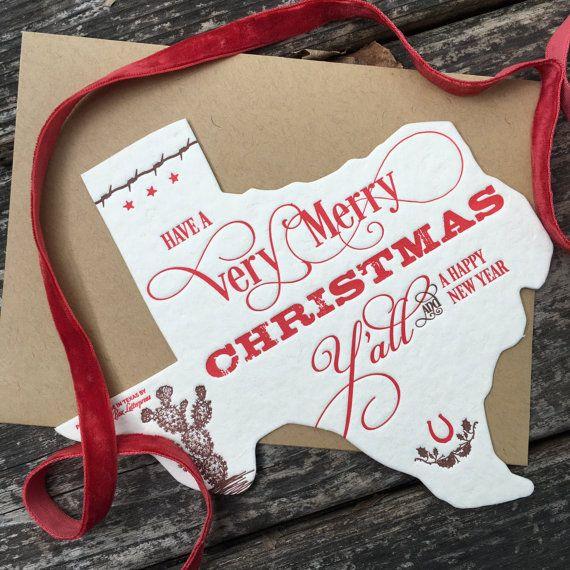 Texas holiday greeting card letterpress holiday greeting cards texas holiday greeting card letterpress m4hsunfo