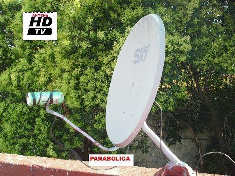 Antena Wi Fi De 8 Km De Alcance Youtube Antena Parabolica Antenas
