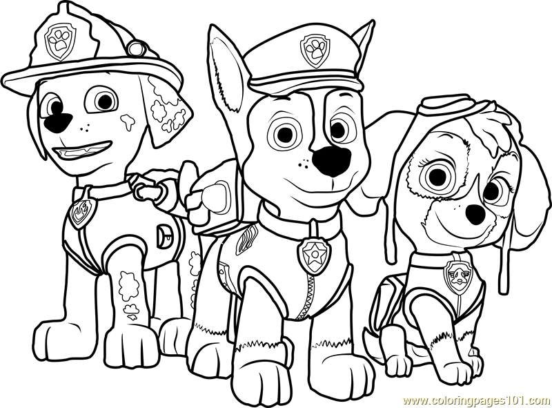 Paw Patrol Printable Coloring Page For Kids And Adults Paw Patrol Coloring Pages Paw Patrol Coloring Paw Patrol Printables
