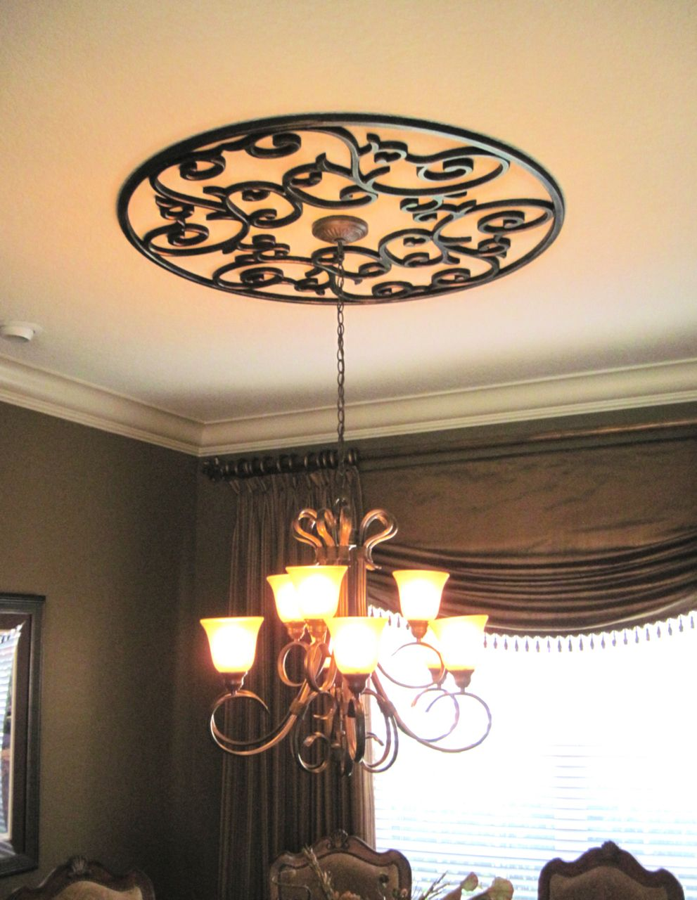 Eva In 2019 Home Remodeling Decor Ceiling Art Wrought