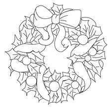 Wreath Coloring Pages color