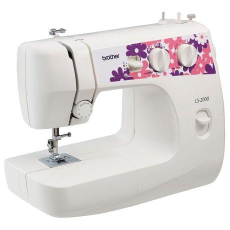 Brother LS40 mechanical sewing machine Walmartca Serger Gorgeous Wal Mart Sewing Machine