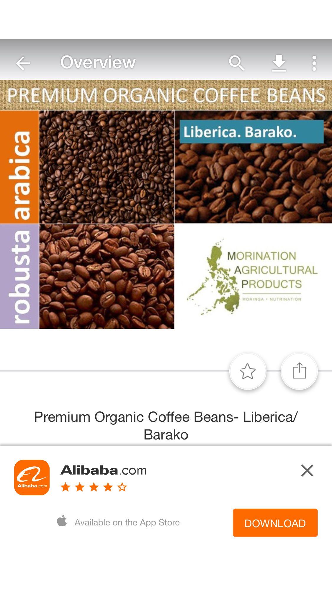 Barako Organic Coffee Organic Coffee Beans Premium Organic