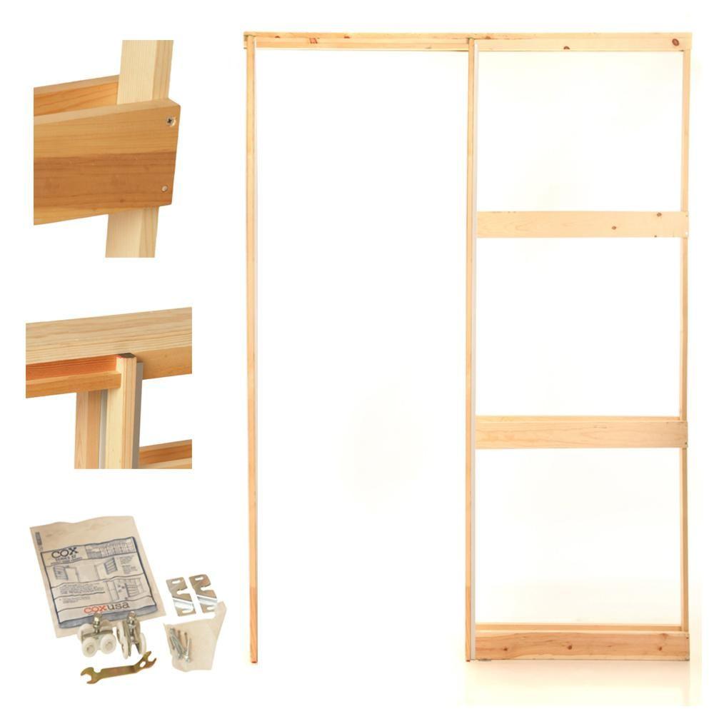 Henry Pocket Frames 36 In Knock Down Wood Pocket Door Frame 36k150 Pocket Doors Sliding Pocket Doors Pocket Door Frame