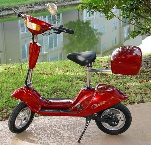 Used Huffy Buzz Electric Scooter Camping Pinterest